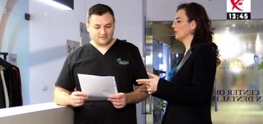 Spot DSE - Totul despre parodontoza - Clinicile Dr. Leahu - Realizator Cecilia Caragea