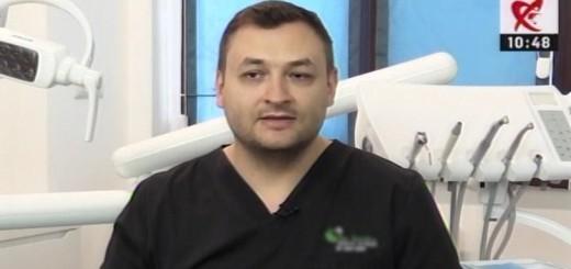 DSE - Ce inseamna implanturile dentare zigomatice - Clinicile Dr. Leahu - Realizator Cecilia Caragea