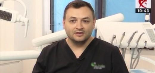 DSE - Noile tehnologii din protetica dentara - Clinicile Dr. Leahu - Realizator Cecilia Caragea