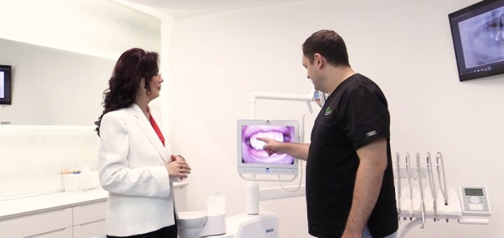 Spot Reluare DSE – Cauzele si tratamentul parodontozei - Clinicile Dr. Leahu - Realizator Cecilia Caragea