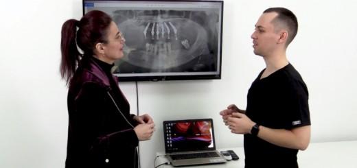 Spot DSE - Daca si cat de tare doare implantul dentar - Dr. Corrado Cazacu - Realizator Cecilia Caragea
