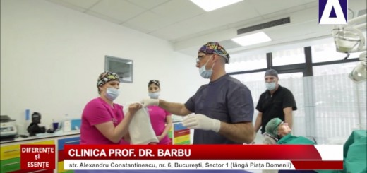 DSE - Perfectionarea continua in stomatologie - Clinica Prof. Dr. Barbu - Realizator Cecilia Caragea